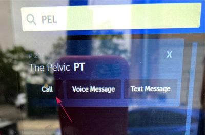 Press the Call Button